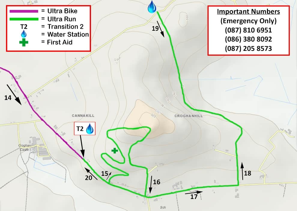 Ultra Croghan Route